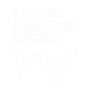 Human Powered racing logo.